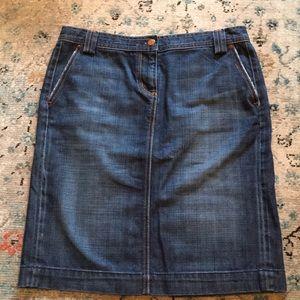Vintage J Crew Denim Skirt